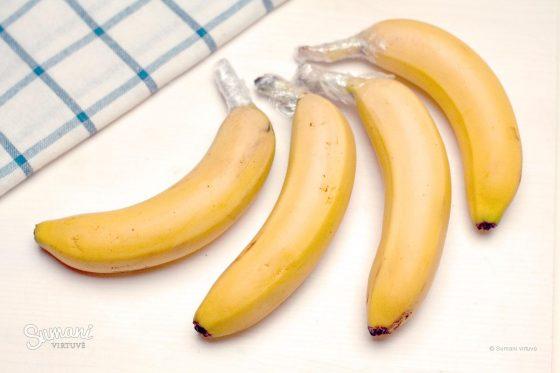 bananų laikymas kur laikyti