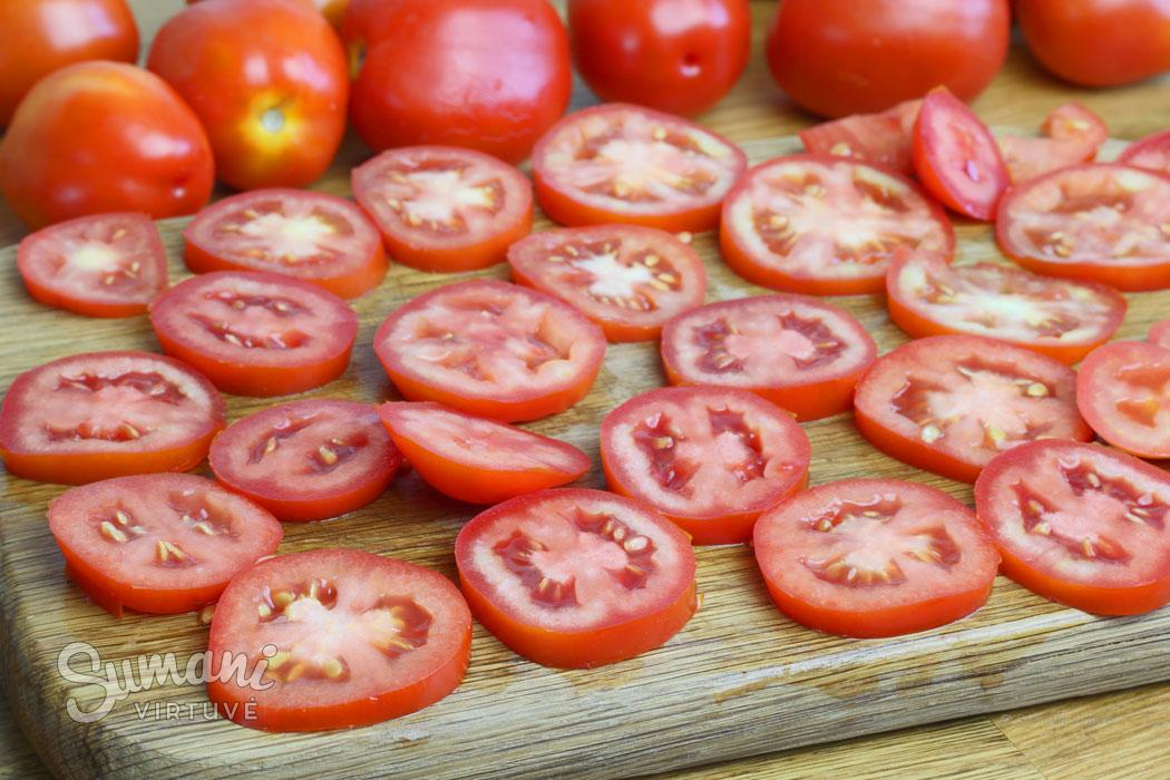 kaip pomidorus šaldyti riekelėmis sumani virtuvė