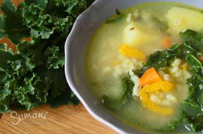 lapinių kopūstų sriuba